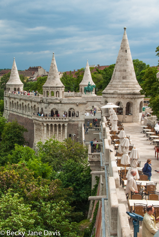 Fisherman's Bastion, Budapset, Hungary