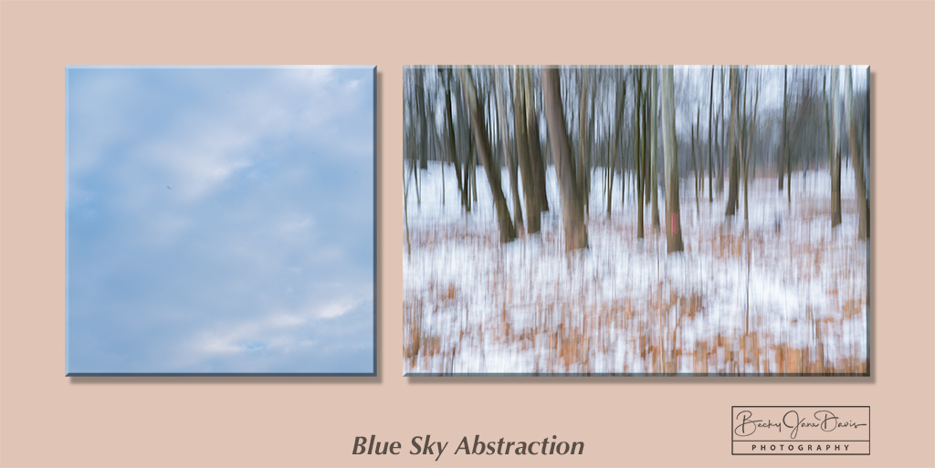 Blue Sky Abstraction