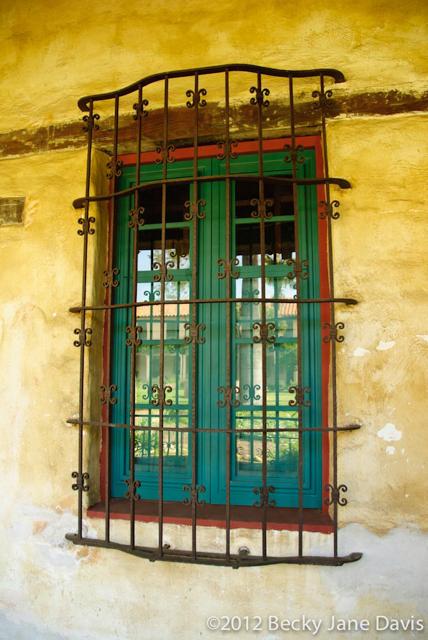 Old Spanish Window
