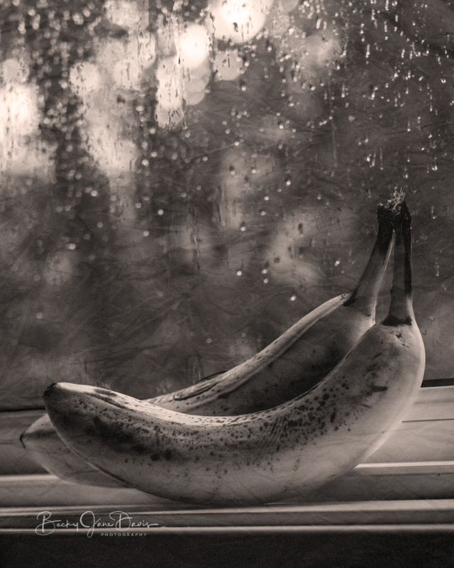 Banana on Windowsill