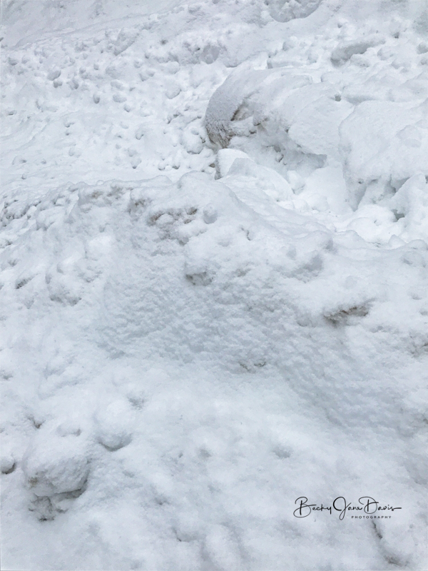 Piled up Snow