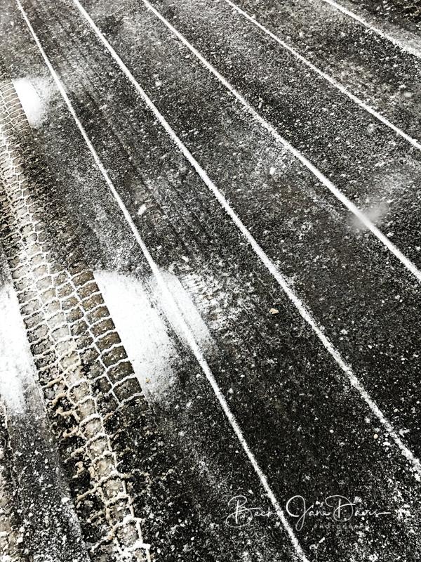 Snow Plow Tracks