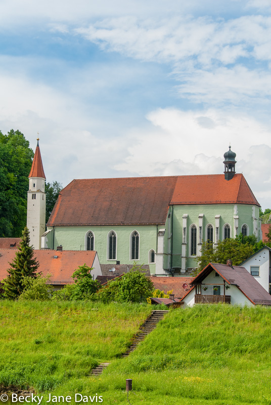 Green Church, Kelheim, Germany