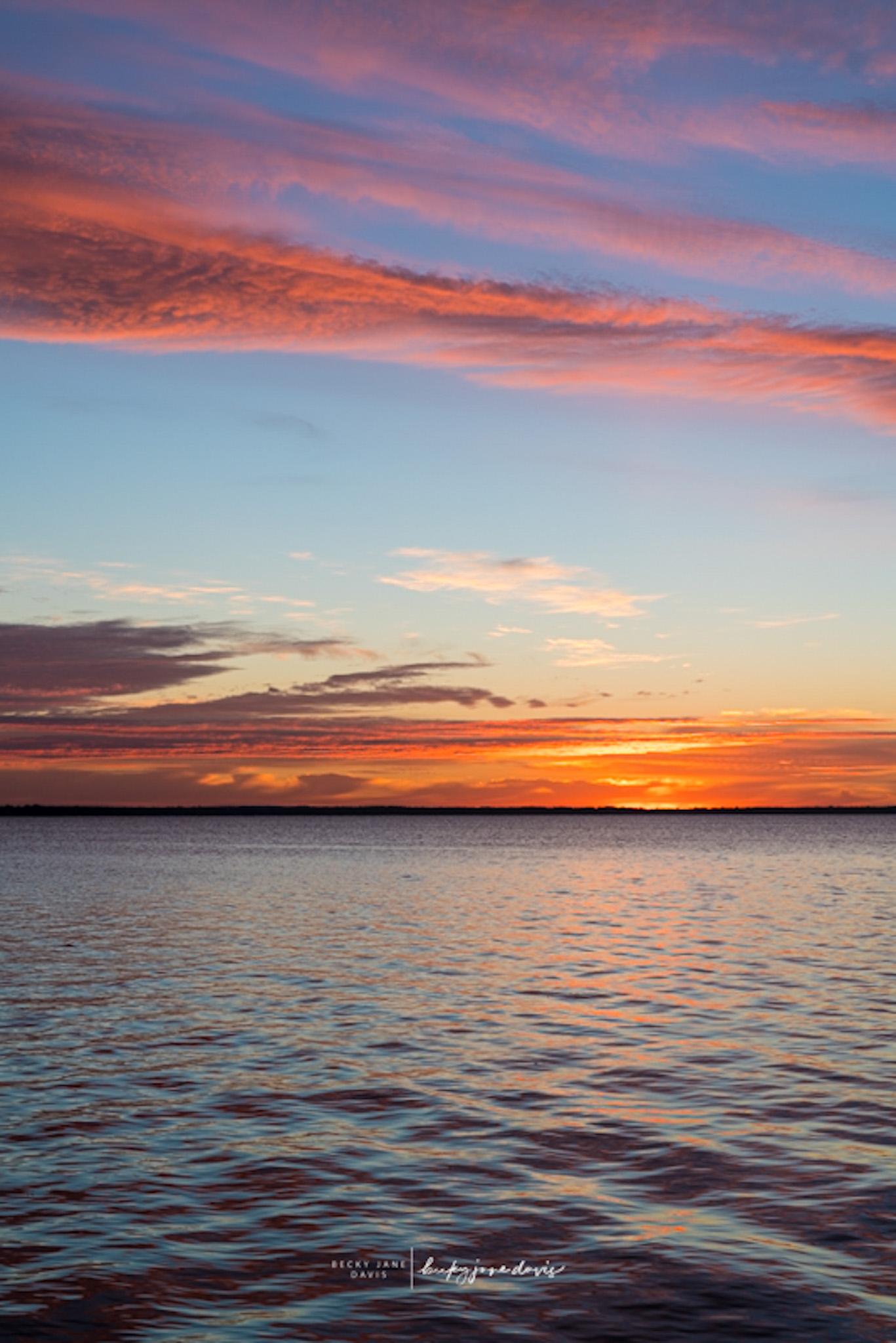 Sunrise Houghton Lake Fall 2021
