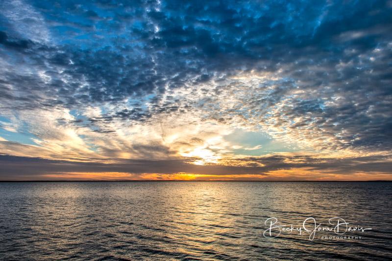 Houghton Lake Sunrise Oct. 19