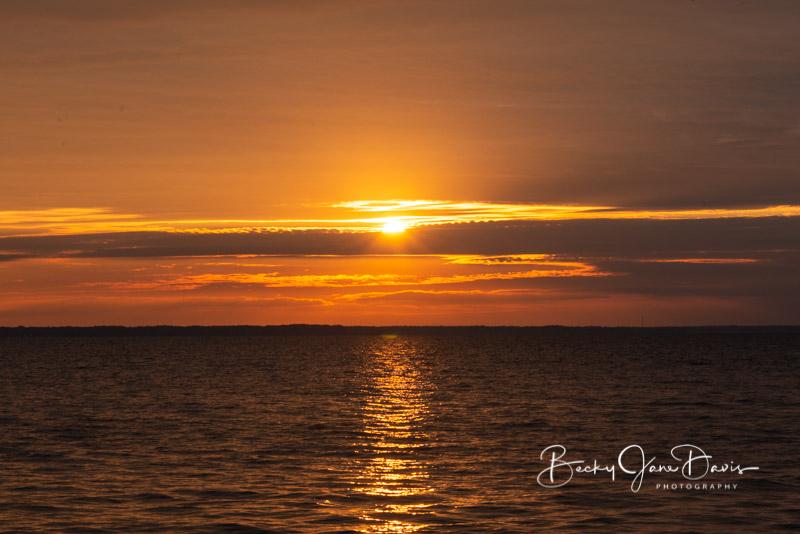 Houghton Lake Sunrise Oct. 14
