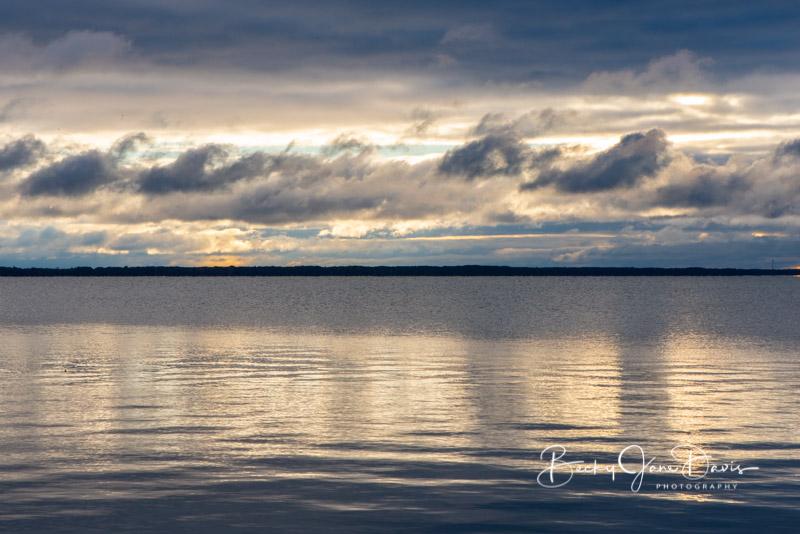Houghton Lake Sunrise Oct. 12